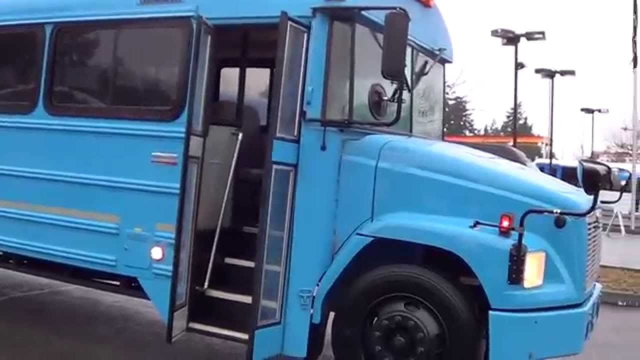 Thomas Built Buses >> Northwest Bus Sales Used 2005 Thomas Freightliner FS65 44 Passenger Commercial Bus B57292 - YouTube