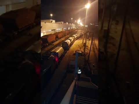 הובלת אמוניה (צילום: דוברות רכבת ישראל)