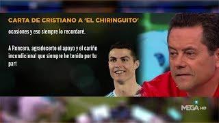 LA CARTA de Cristiano DEDICADA a 'El Chiringuito':
