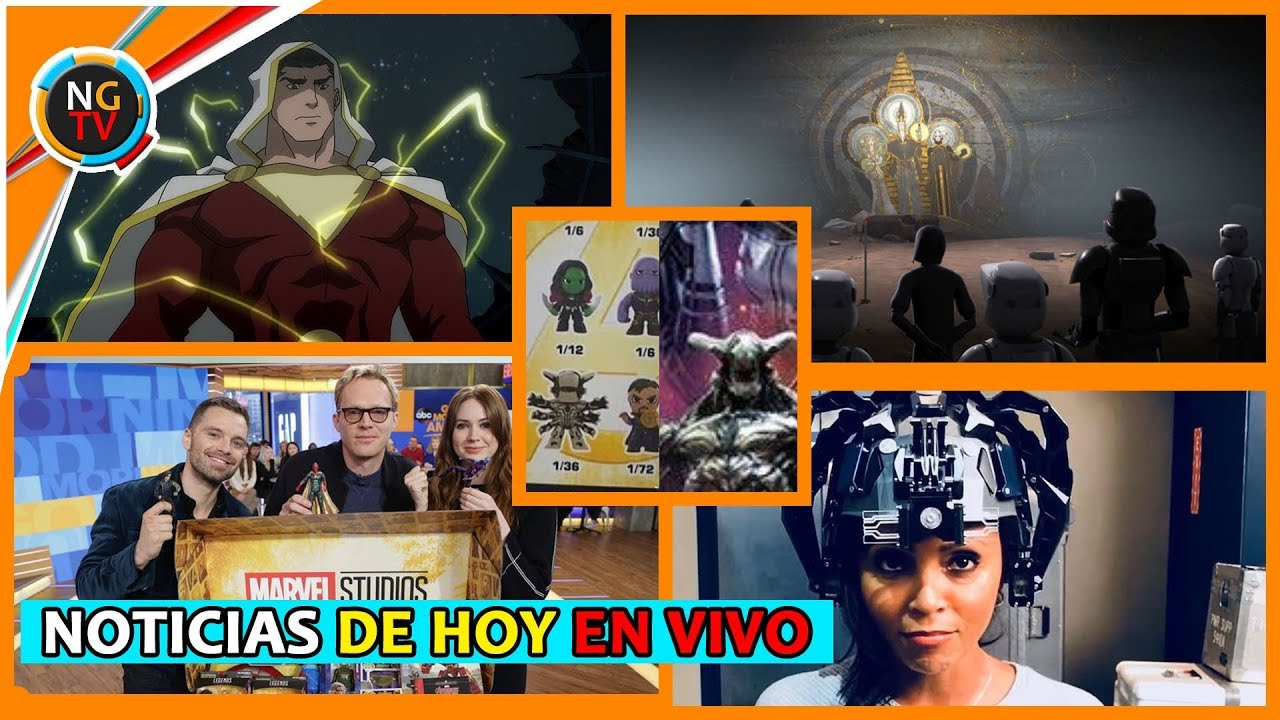 Ver Película del Silver Surfer – Traje de Shazam – The Flash vs The Thinker – Avengers Funkos – Star War en Español