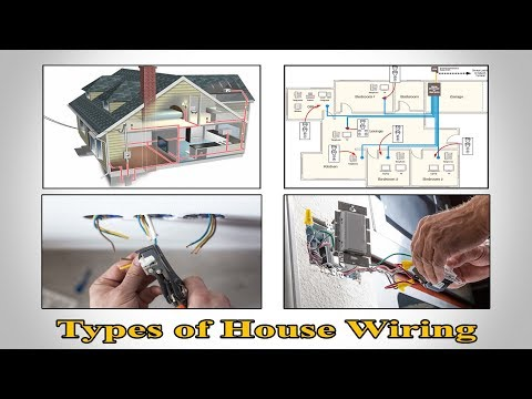 Types of House Wiring - Types of Electrical Wiring - Electrical Wiring