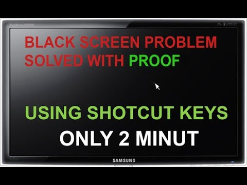 How to Fix Toshiba Black Screen on Startup