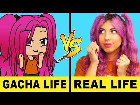 Gacha Life VS Real Life