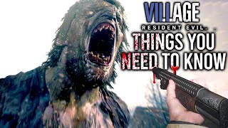 Resident Evil 8 Village: 10 Things You Need To Know