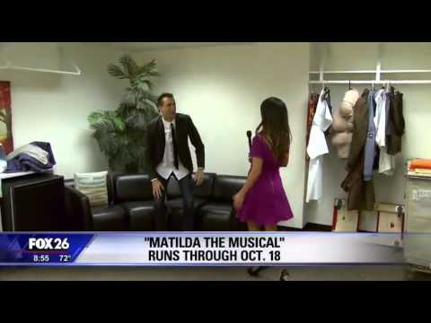 Backstage at Matilda the Musical in Houston