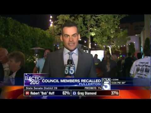 Fullerton Recall Election Night Coverage - KTLA