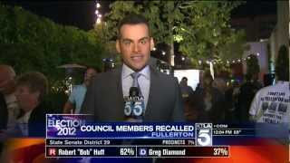 Fullerton Recall Election Night Coverage - KTLA