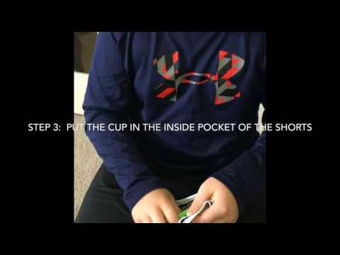 How To Put On A Protective Athletic Cup