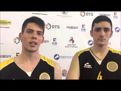 Video | Οι δηλώσεις των πρωταγωνιστών στο yt channel της ΕΟΚ, μετά την τρίτη αγωνιστική του 43oυ Πανελλήνιου Πρωταθλήματος Εφήβων 2016