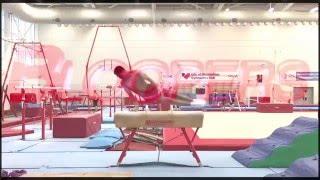 Подборка видео тренировок в гимнастическом клубе г. Бирмингем за 2015 г.