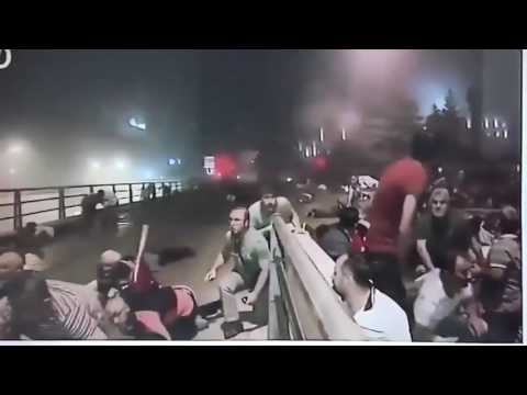 Turkey Coup - Military Helicopter Shoots Citizens Live on Turkish Television
