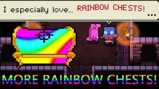 Enter the Gungeon Rainbow Mode | Bowler's Rainbow Run - How To Get More Rainbow Chests!