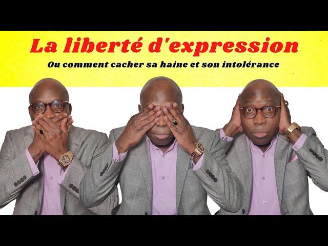 DR JFA: La liberté d'expression Ou comment cacher sa haine et son intolérance