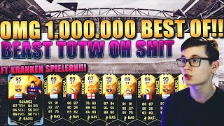 FIFA 16: PACK OPENING DEUTSCH - FIFA 16 ULTIMATE TEAM - OMG 1 MIO BEST OF!! [BEAST TOTW FT INFORMS!]