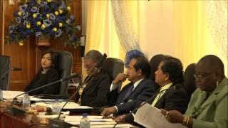 San Fernando City Corporation 17th Statutory Meeting. 31:03:2015.  Trinidad & Tobago