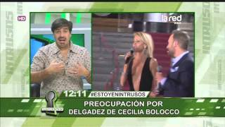 Preocupación por la extrema delgadez de Cecilia Bolocco