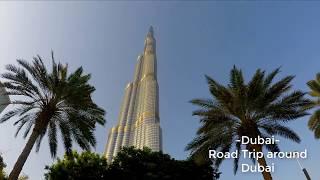 Dubai - Road Trip around Dubai | Travel with Feroz