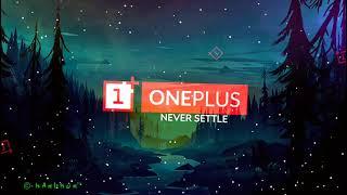 Never Settle One Plus Logo Visualizer #41AveeTemplate (Download link Description)