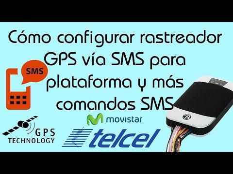 Configurar GPS por mensaje de texto SMS