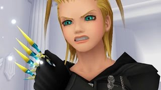 All Larxene Scenes (Kingdom Hearts: Chain of Memories)