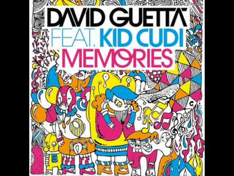 David Guetta feat Kid Cudi - memories long version extended