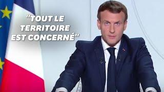 Reconfinement: le discours d'Emmanuel Macron du 28 octobre 2020