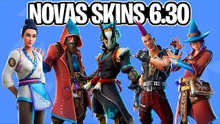 BEAUTIFUL NEW SKINS, GLIDERS, PICKAXES and EMOTES LEAKED UPDATE 6.30-Fortnite