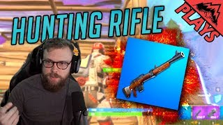 HUNTING RIFLE - Fortnite Gameplay #87 (StoneMountain64)