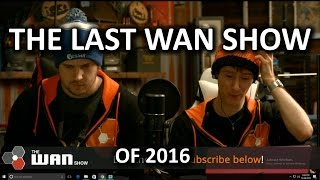 FLYING AMAZON WAREHOUSES - WAN Show December 30, 2016