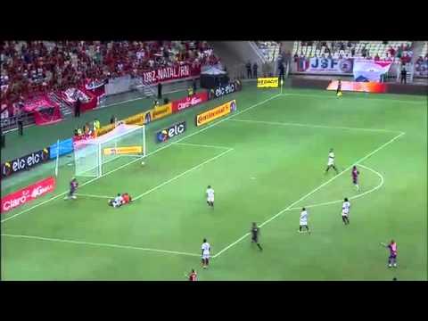 Gols:Fortaleza 2x1 Flamengo 04/05/16