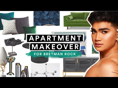 EXTREME APARTMENT MAKEOVER for Bretman Rock! (Part 1) // Lone Fox thumbnail