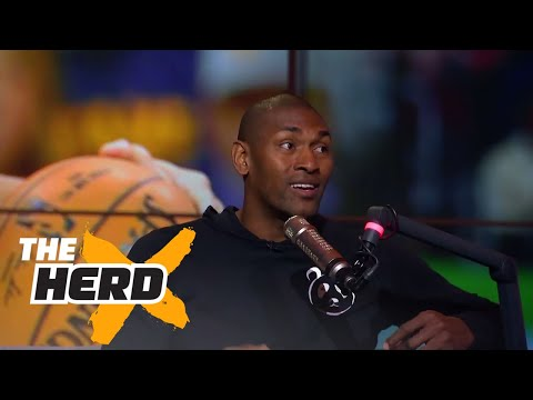 Metta World Peace talks guarding Kobe, LeBron, Durant, 2017 NBA Finals and more | THE HERD