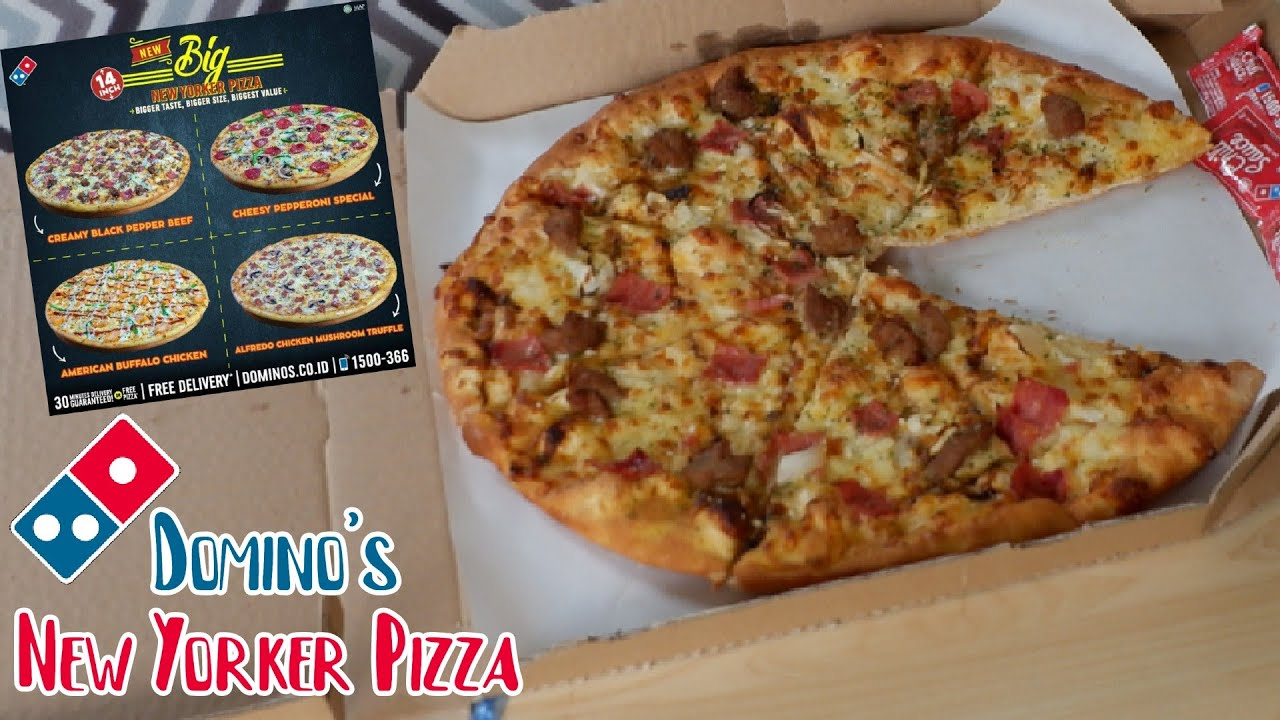 Baru New Yorker Dominos Pizza Gini Aja Youtube