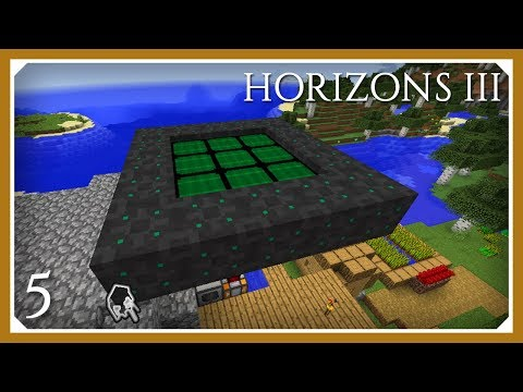 FTB Horizons 3 | 1.12 Environmental Tech Solar Array Panels! | E05 (Modded Minecraft 1.12.2)