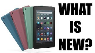 What's new with the Amazon Kindle Fire 7 2019?