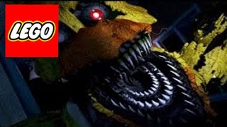 How To Build: LEGO (Five Nights at Freddy's 4) Nightmare Chica