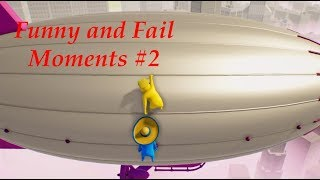 Funny and Fail Moments #2 - Gang Beasts