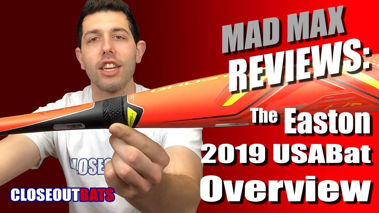 Closeoutbats com 2019 Easton USA Bat Review