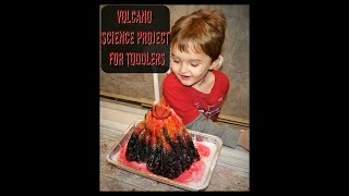 Volcano Science Project for Kids