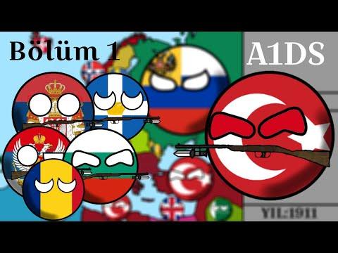Alternatif 1. Dünya Savaşı|Bölüm 1|Balkan Savaşı!