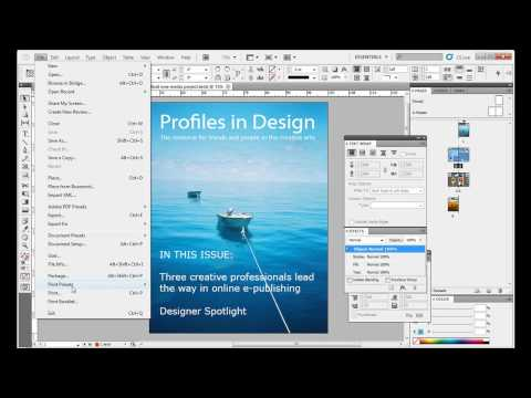 Designing PDFs and EPUBs for E-Readers in Adobe InDesign