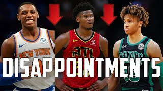 7 Most DISAPPOINTING NBA Rookies Of 2020...