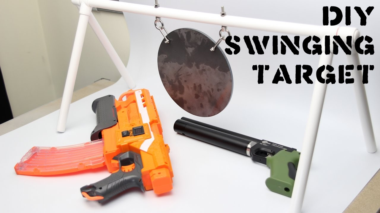 how to make a gong target