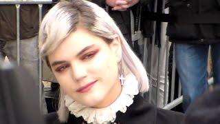 SOKO @ Paris mardi 10 mars 2015 Fashion Week Défilé Chanel
