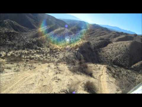 Riding in Yucca Valley
