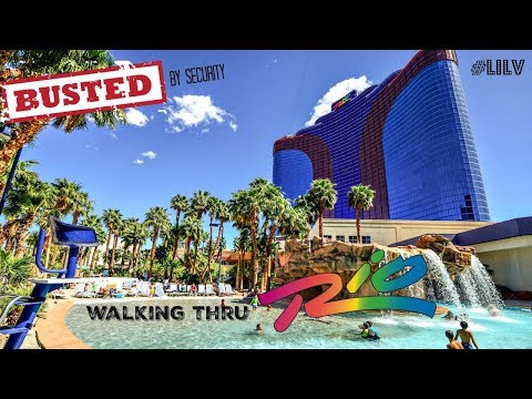 Busted Walking Thru Rio Las Vegas 2017