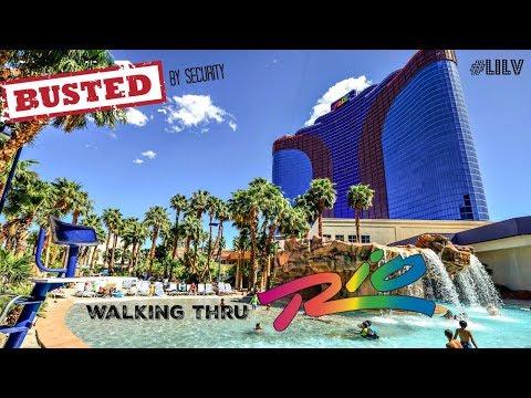 Walking Thru Rio Las Vegas 2017