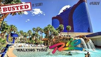 Walking Thru Rio Las Vegas