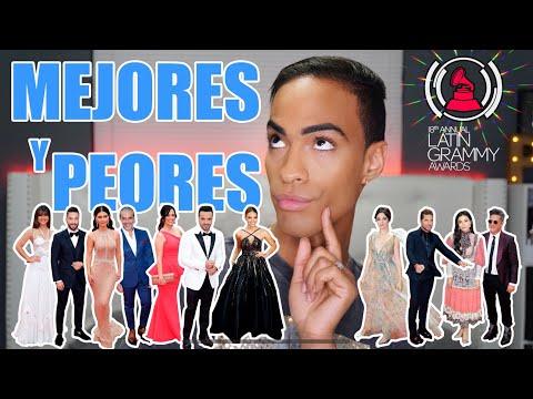 "ESPANTOSO, Mejor & Peor vestidos ""Latin Grammys 2017"""