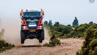 InstaForex Loprais Team 69 - the real MAN Dakar truck testing!